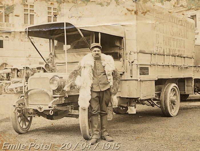 GBM (Guerre, Blindés & Matériels) Emile_Potel_1915
